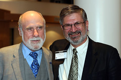 Vinton G. Cerf and RennyBA