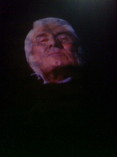 Spooky projection in the Heritage Centre