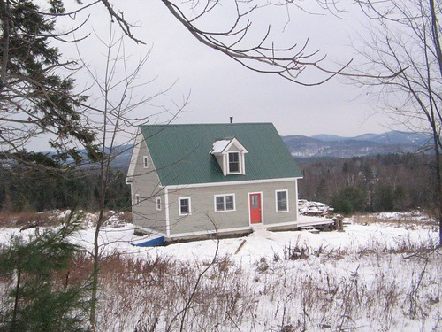 my parent's built a 2nd home in vermont