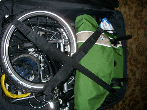 Crumpler packed with the Dahon