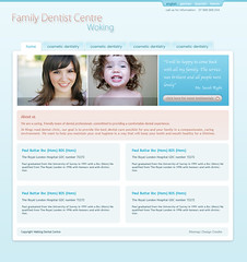 Design proposal version1 dentist (lewro) Tags: pink blue light brown photoshop design shades proposal dentist cs3