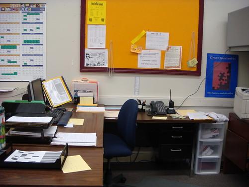 visiting the old desk