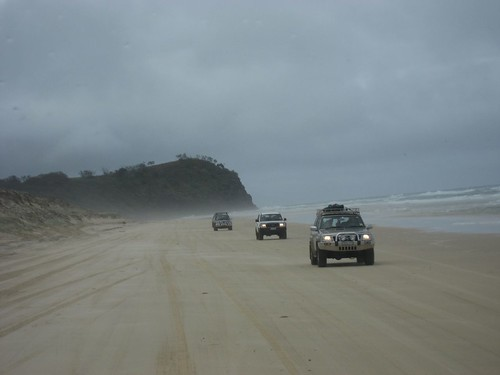 Driving toward Indian Head point