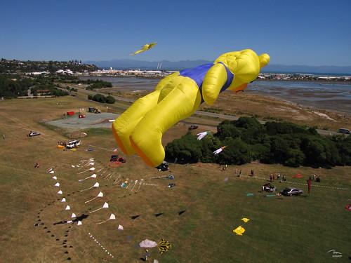 Flying Yellow Bear