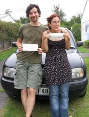 Unser neuer (vorläufiger) Kiwi-Führerschein