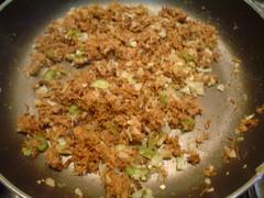 carne,cebolla y chile