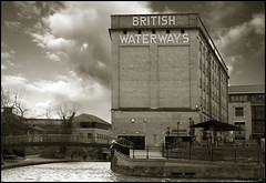 british waterways (vcrimson) Tags: nottingham uk england brick canal british waterways industrialengland