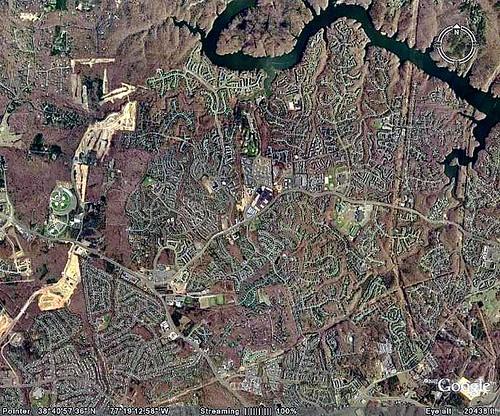 sprawl in Prince William County, Virginia