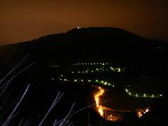 七星山夜景