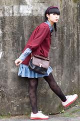 Akina (swanky) Tags: portrait people woman cute girl beautiful beauty canon asian eos md model women pretty taiwan 85mm babe belle taipei   2008 taiwanese image01  30d    akina   canonef85mmf18usm   emiruemirue ak