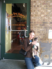 Norman and Tammy at Three Dog Bakery