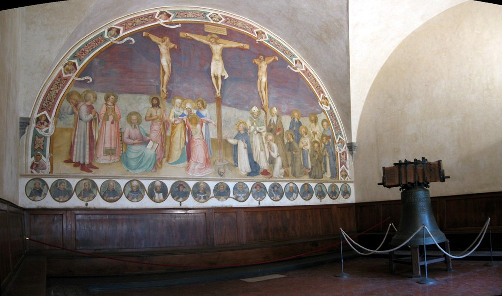 Museum of San Marco - Fra Angelico - Crucifixion with Saints