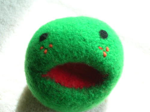 Close up of Little Pea toy