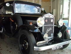 Traditional old Fiat (Jooliree) Tags: old black france cars vintage shiny fiat indre garage chrome week39 7daysofshooting aigurande traditionalthursday