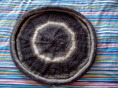 felted bowl (before)