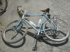 At rest (cyclotourist) Tags: bike bicycle ta brooks rivendell nitto monstercross
