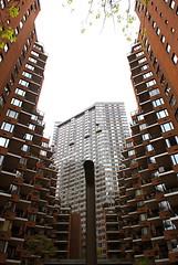 Logan's Run - UES Manhattan (oliver_selwyn (view LARGE on black!)) Tags: nyc newyorkcity newyork digital nikon skyscrapers squares manhattan symmetry ues condo coop d200 dslr uppereastside skyrise suttonplace lpsquares lpsymmetry