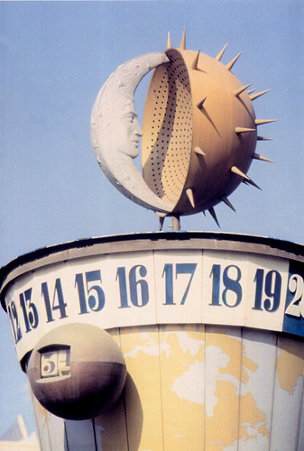 Disneyland's Clock of the World, 1955 to 1966