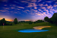 (Andreas Reinhold) Tags: longexposure green grass night court dark golf sand country course bunker golfcourse bergischesland golfplatz ratingen golfclub mettmann golfcourt strobist andreasreinhold metzkausen grevenmhle