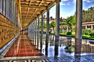 Getty Villa Walkway