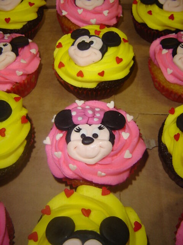 minnie mouse cake. the minnie mouse cake.