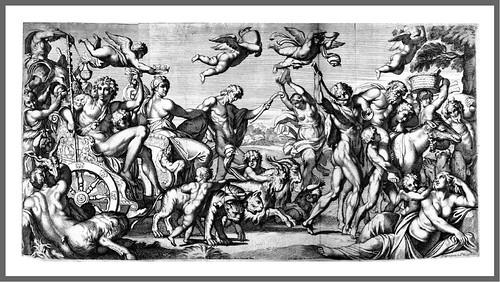 03-Triunfo de Baco y Ariadna grabado
