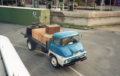 Temmy Trader.... (Reiver RE229) Tags: newzealand thames trader 1958 flat lorry petrol ford