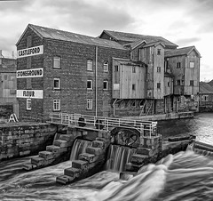 Queens Mill Castleford (Explored) (cjpk1) Tags: castleford queens mill water river power energy