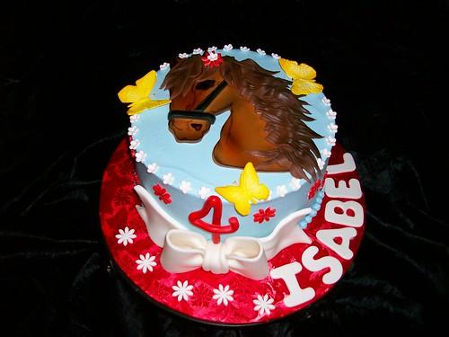 Birthday Cake Horse. Horse Birthday Cake