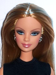 Wave R Fashion Fever Animal Print Barbie (The Doll Cafe) Tags: barbie headshot waver animalprint fashionfever