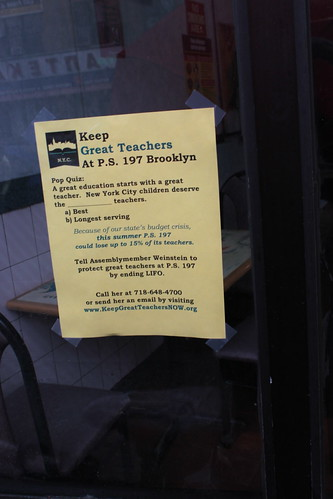 Keep Great Teachers flyer