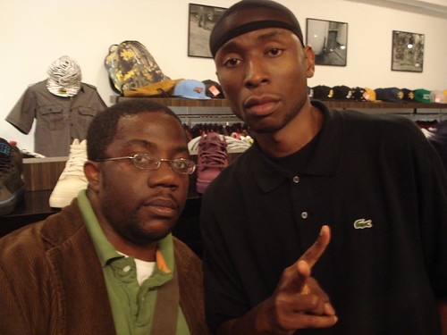 Me and 9th Wonder