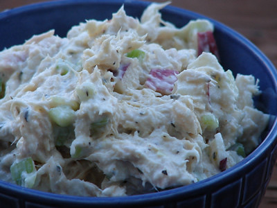Recipes » Fish & Seafood » Tuna Fish Salad with Celery, Apple ...