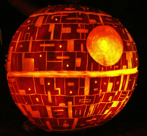 Awesome Death Star pumpkin