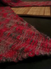 clapotis reshoot 3 (strange charm) Tags: macro knitting knitty clapotis