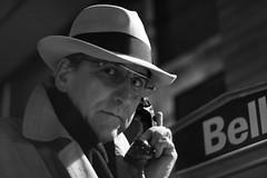 3- Ready to go (Luc Deveault) Tags: old bw white canada black movie noir quebec roman atmosphere nb qubec spy 70s luc polar espion blanc srie atmosphre deveault lucdeveault