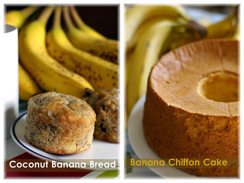 bananas, two ways