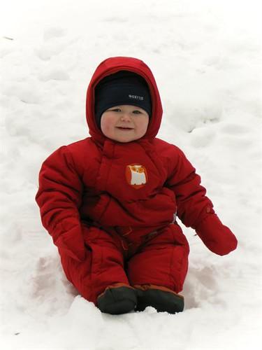 Snow baby..