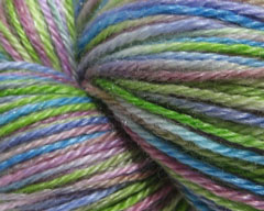 Cindy Lou Who Merino/Tencel Shiny Sock Yarn (Spiffy Knits)