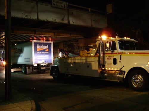 Anderson Ave Bridge: 1, Budget Truck: 0