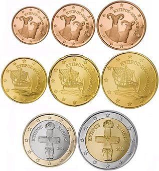 Τα ευρωνομίσματα της Κύπρου και της Μάλτας