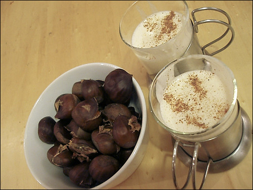 Roasted Chestnuts and Eggnog