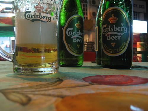 Carlsberg Beer...