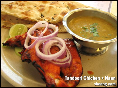 tandoori chicken naan set
