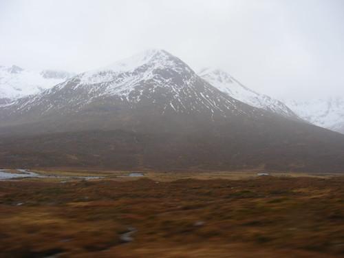 Paisaje norte de Escocia