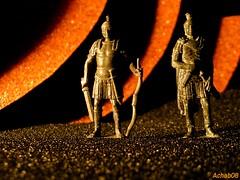 Romani 01 - Romans (Gian Michele Brandi) Tags: macro colors vivid kinder romano minimalismo colori romans giochi guerriero minimalista romani metallo guerrieri soldatino soldatini vividi nikonl12 achab08