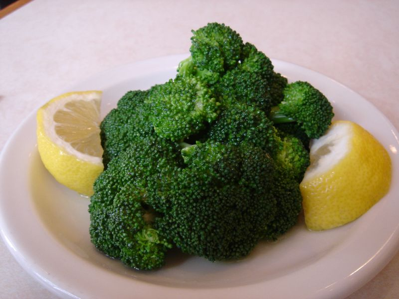 Half Broccoli Salad