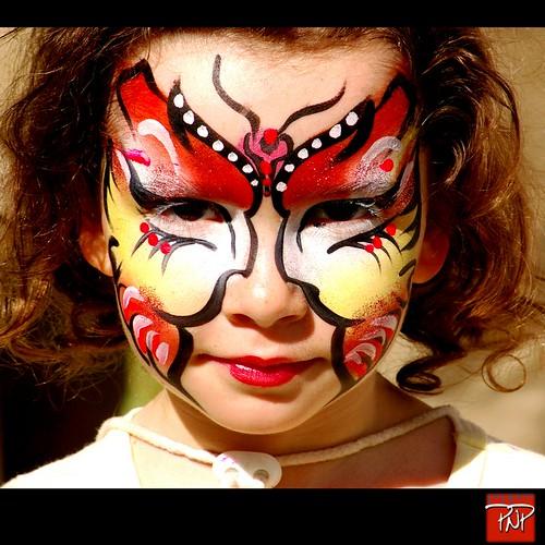 Portrait Face Painting Osaka festival