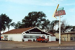 Mid-Point Cafe - Route 66, Adrian, Texas