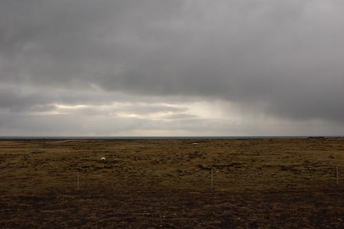 Grindavikからの海岸線
